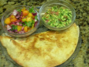 Tacos w. Mango Salsa and Guacamole (3)