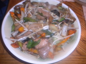 One Dish Pork Tenderloin Stir Fry