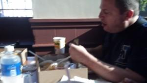 Quinn at Tito's Tacos