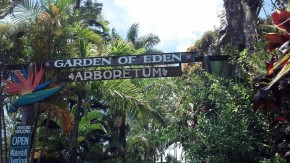 Entrance to Garden of Eden