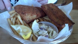 Fish and Chips at Coconut