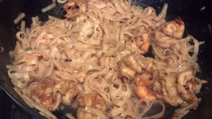 Shrimp-Sauce- & Noodles