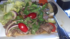 Thai Beef Salad, Conejo Valley