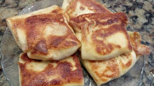 Browned Cheese Blintz