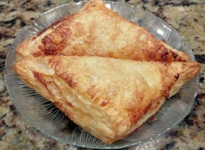 Baked Sweet Cheese Turnovers