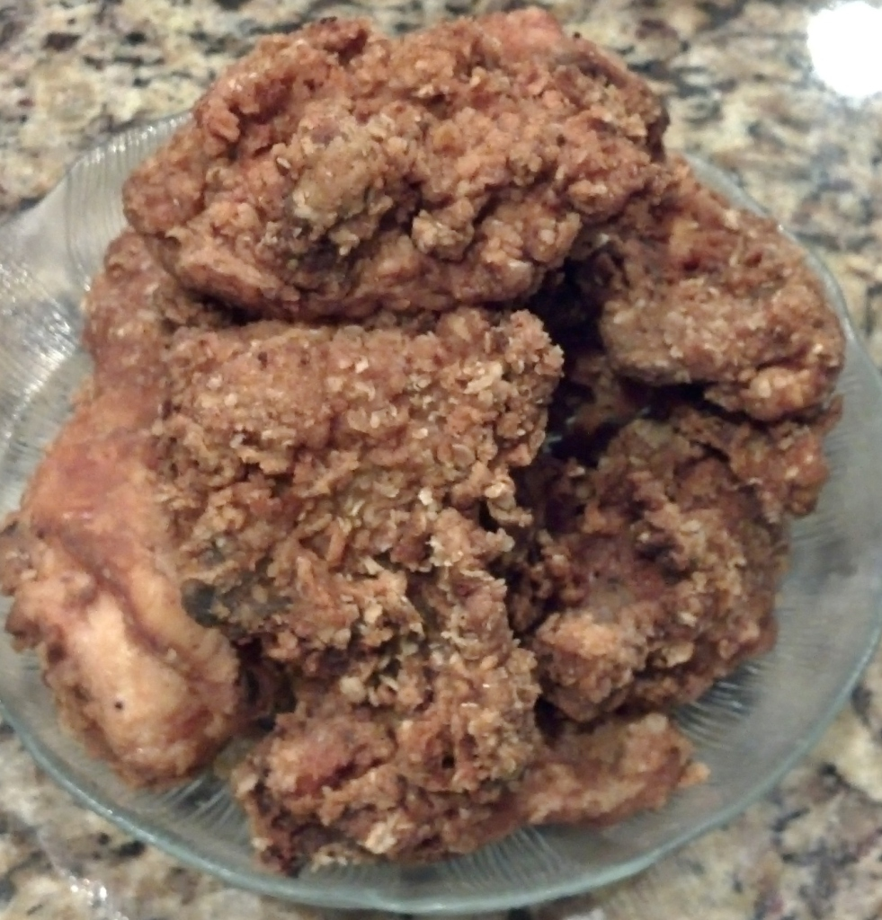 Oatmeal Fried Chicken