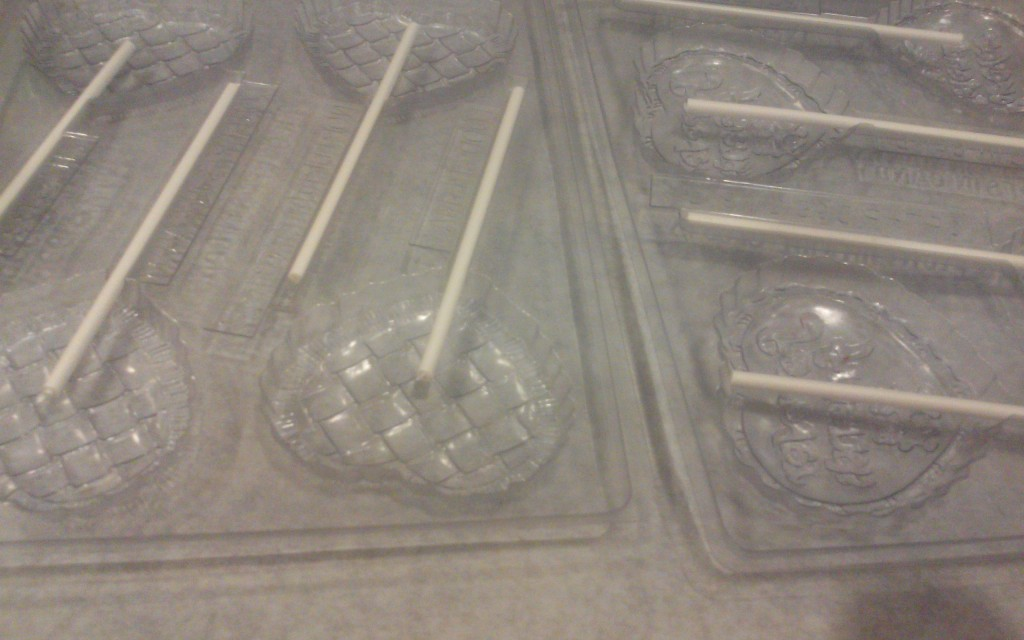 Lollipop Molds and Sticks