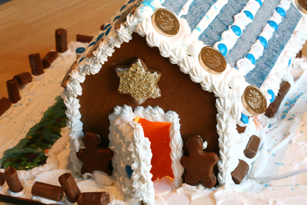 Chanukah Gingerbread House (1)