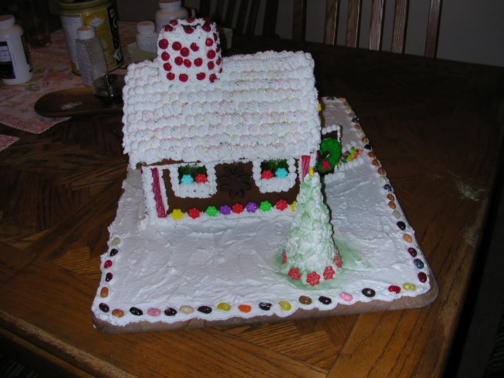 White-Sprinkle Roof