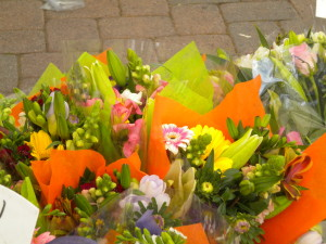 Flowers at Cal. Mkt